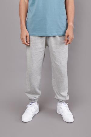 Track Pant Grey w/ Elasticated Cuff