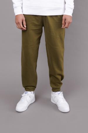 Track Pant Khaki Green w/ Elasticated Cuff