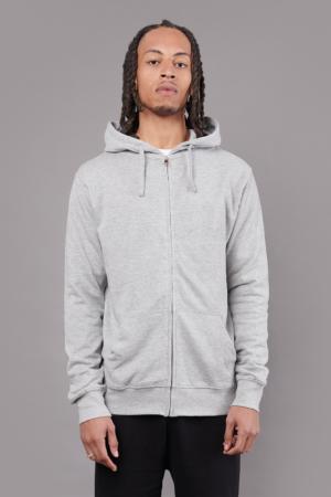Zip Hoodie Grey