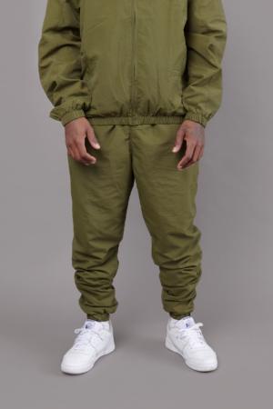 Nylon Trackpant Khaki Green
