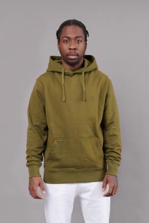 Hoodie Khaki Green