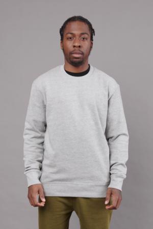 Crew Neck Sweater Grey